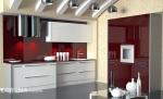 Кухонный гарнитур в стиле модерн «Лайт колор»