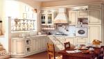 Кухня с фасадами из массива Позитано